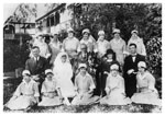 Voss Family and Staff at Hillcrest Hospital 1922