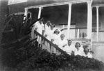 Staff at the Lady Goodwin Hospital ca. 1936