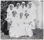Nursing staff at Lady Goodwin Hospital ca. 1940