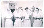 Nurses at the Mater Hospital Graduation Ceremony 1957