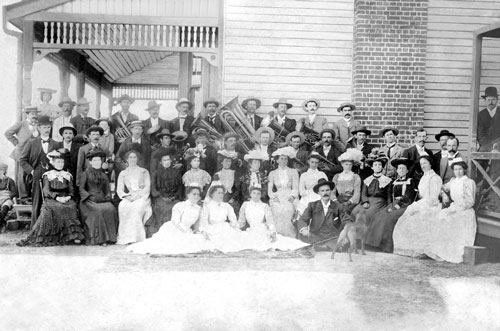 Opening of the first Mount Morgan Hospital, 30th August 1890