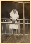 Sister Doris Reid at Tannachy Hospital, Rockhampton, ca. 1940