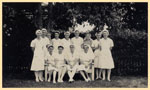 Nursing staff at Tannachy Hospital, Rockhampton ca. 1940