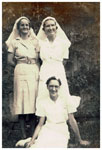 Nursing staff at Tannachy Hospital 1940s