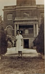 Nurse Joan Holder at the Rockhampton Hospital ca. 1945