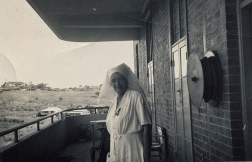 Sister Ivy Baker at the Rockhampton Hospital ca. 1960