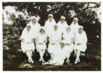 Matron Sarah Maud Green and midwifery staff of the Rockhampton Women's and Lady Goodwin Hospitals