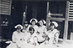 Nurses at the Rockhampton Hospital ca. 1922