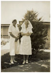 Sisters Baker and Curran, Rockhampton Hospital 1938