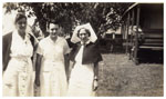 Nurses at the Rockhampton Hospital ca. 1950