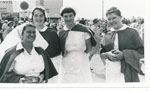 Sister Editha Haynes with Rockhampton Hospital Nurses at the Rockhampton Show ca. 1960