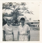 Sisters Fuller and Traves at Rockhampton Hospital October 1971