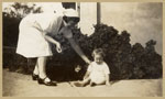 Nurse Doris Kathleen Baker at the Rockhampton Hospital November 1938