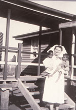 Sister Nancy Crapp at Woorabinda 1957