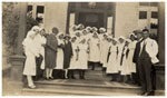 Medical and nursing staff at the Rockhampton Hospital ca. 1926