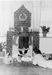 Christmas decorations in a Rockhampton Hospital Ward in 1963
