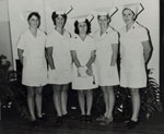 Nurses at the Rockhampton Hospital in 1970