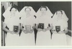 Graduating nurses Rockhampton Hospital 1957