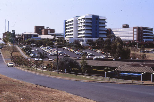 The Rockhampton Hospital Medical Services Building in October 1986